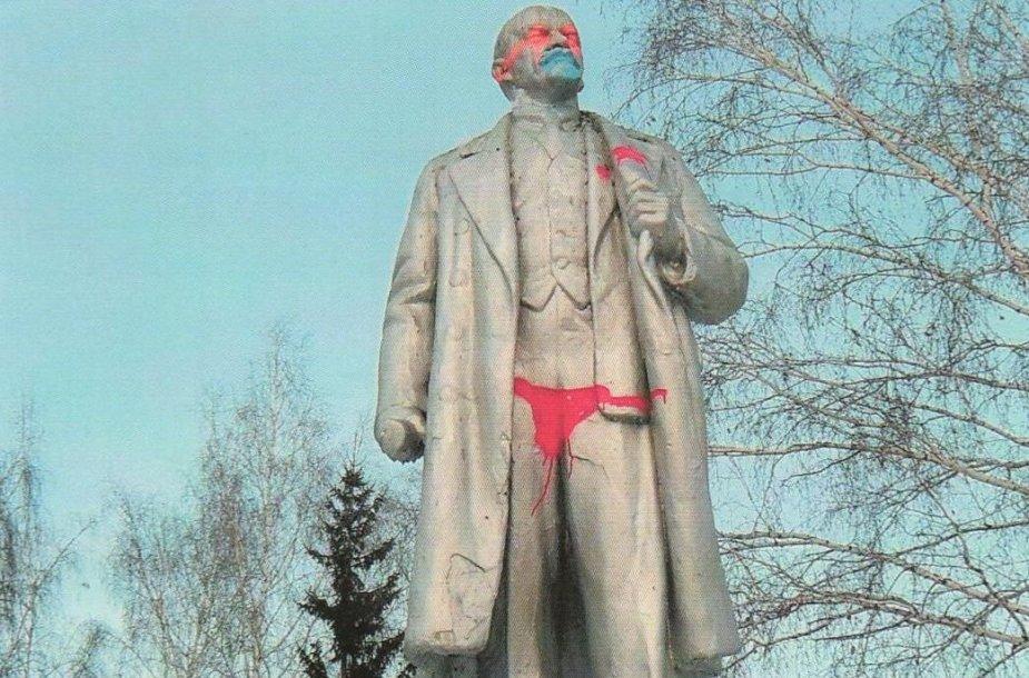 Lenino statula Novosibirske