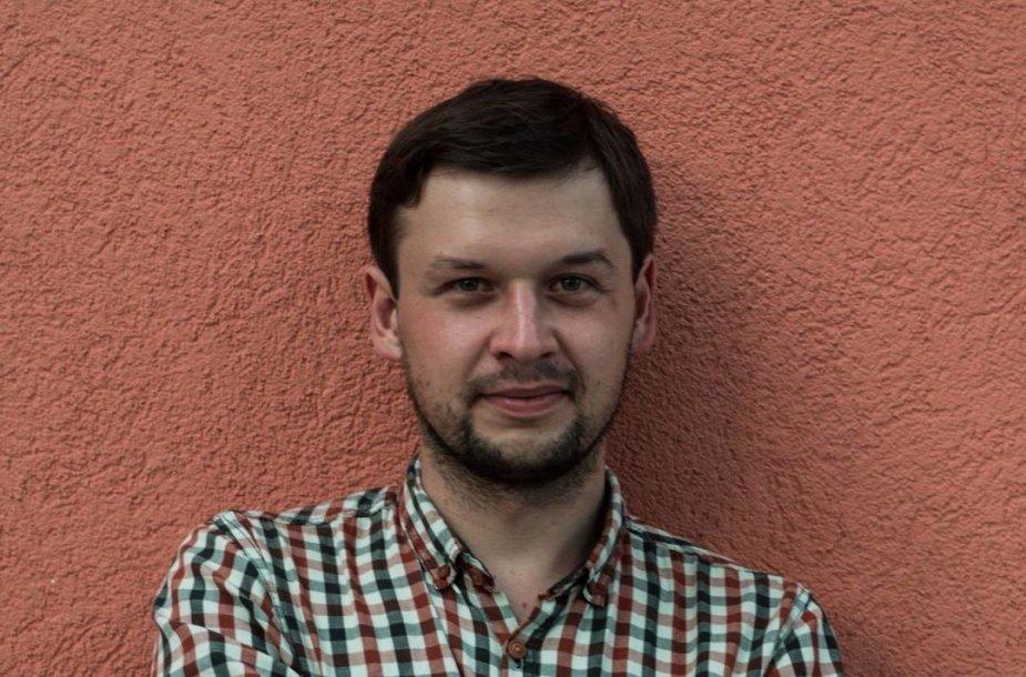 Rašytojas Povilas Šklėrius