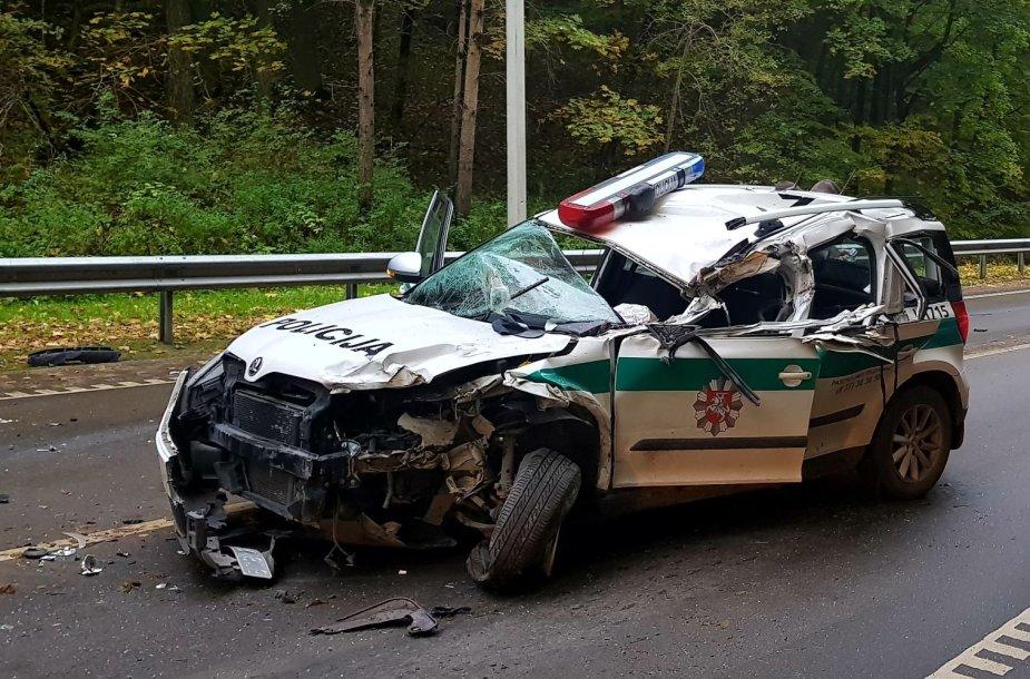 Policijos avarija