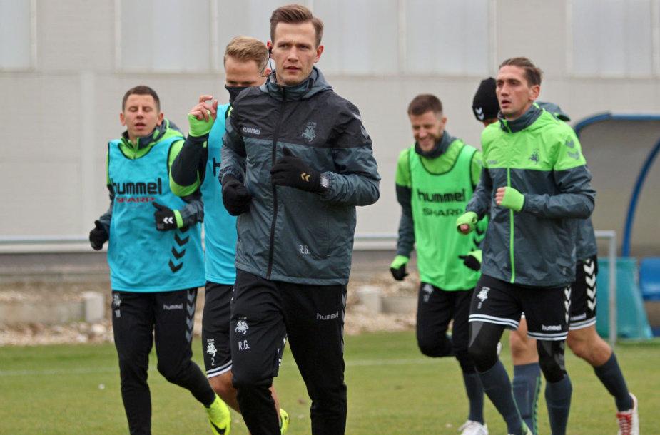 Trenerio asistentas Rokas Garastas