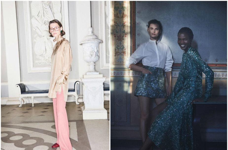 Giedrė Dukauskaitė Victorios Beckham (kairėje) ir H&M reklamose