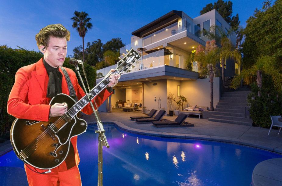 """Harry Stylesas iš """"One Direction"""" parduoda vilą su vaizdu į Holivudą"""