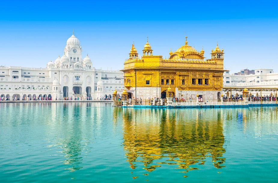 Aukso šventykla, Indija