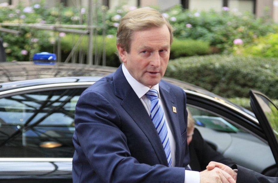 Airijos ministras pirmininkas Enda Kenny