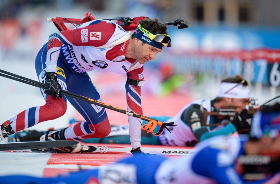 Ole Einaras Bjoerndalenas veikiausiai nepateks į olimpines žaidynes Pjongčange.