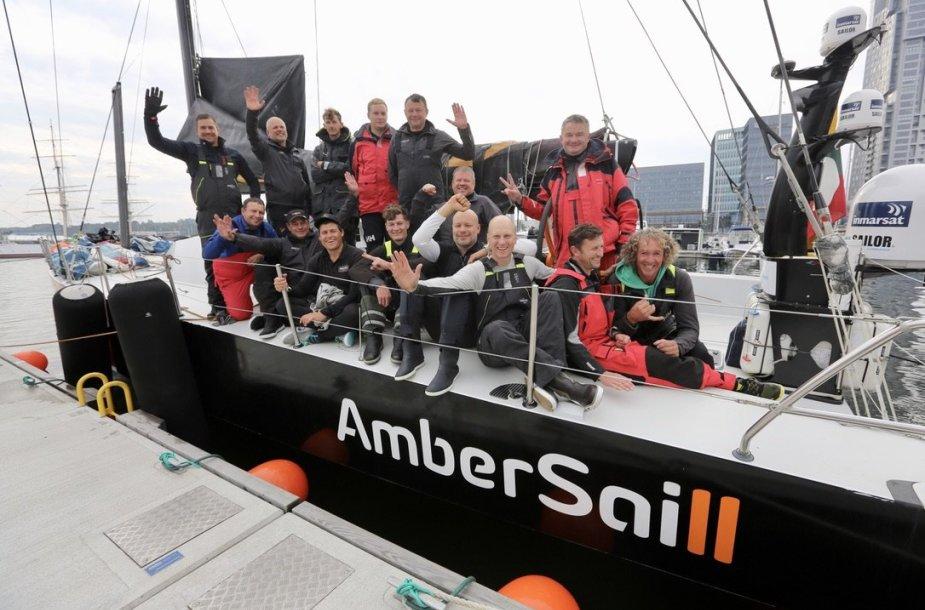 """""""Ambersail2"""" lenktynės Baltijos jūroje"""