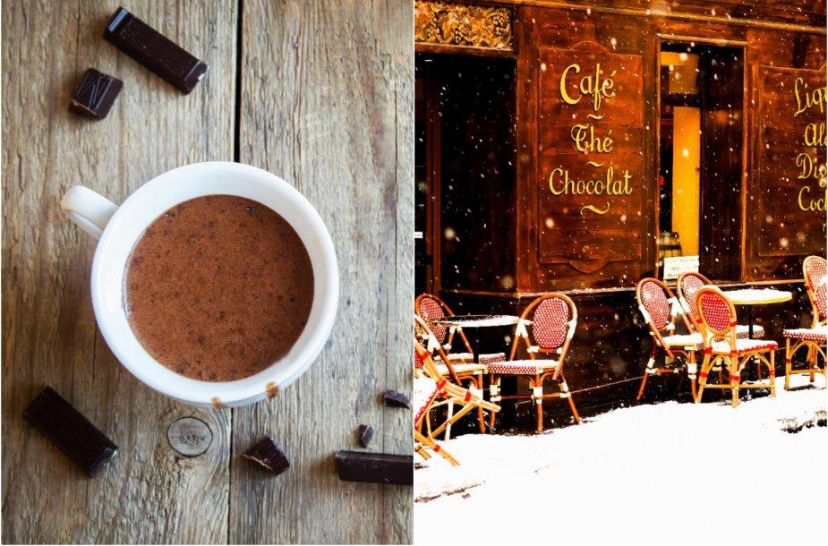 Paryžietiškas karštas šokoladas