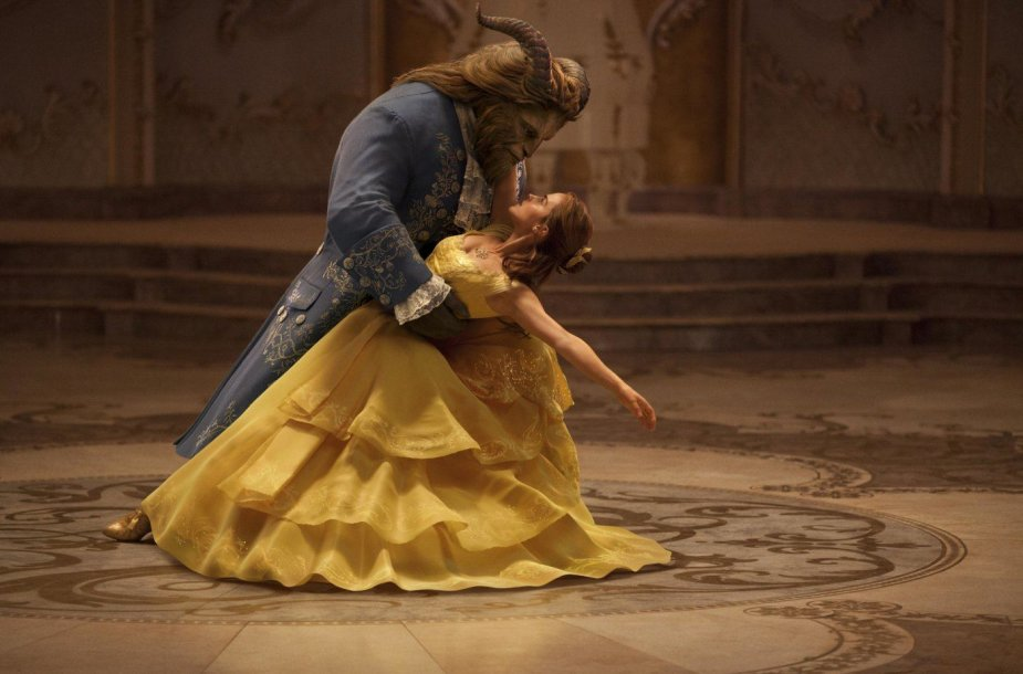 """Emma Watson ir Danas Stevensas filme """"Gražuolė ir pabaisa"""""""
