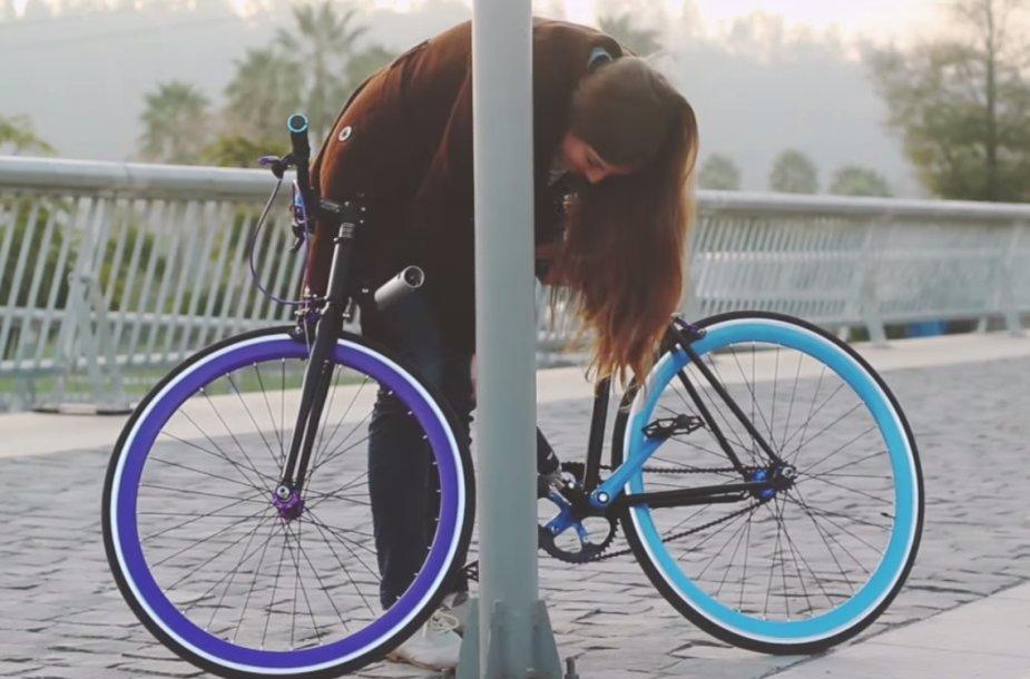 Nepavagiamas dviratis