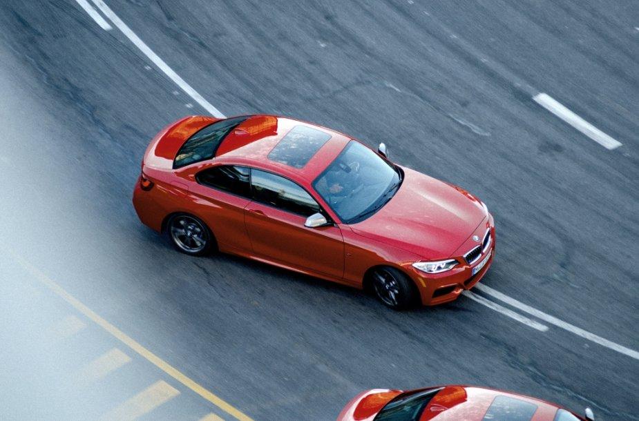 """""""BMW M235i"""" reklamos filmavimas"""
