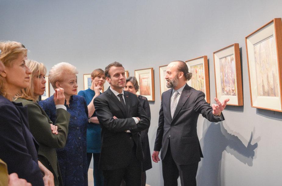 Prezidentė Orsė muziejuje Paryžiuje kartu su Prancūzijos, Estijos ir Latvijos Prezidentais atidarė parodą