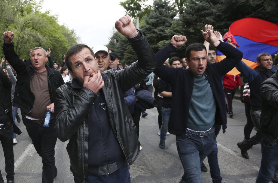 Protestas Armėnijoje
