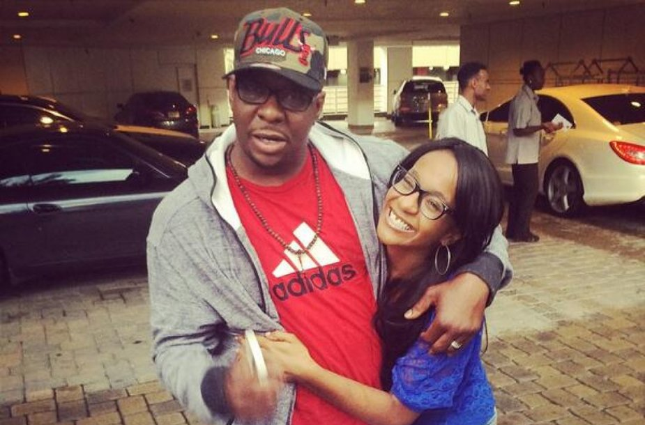 Bobby Brownas su dukra Bobbi Kristina Brown