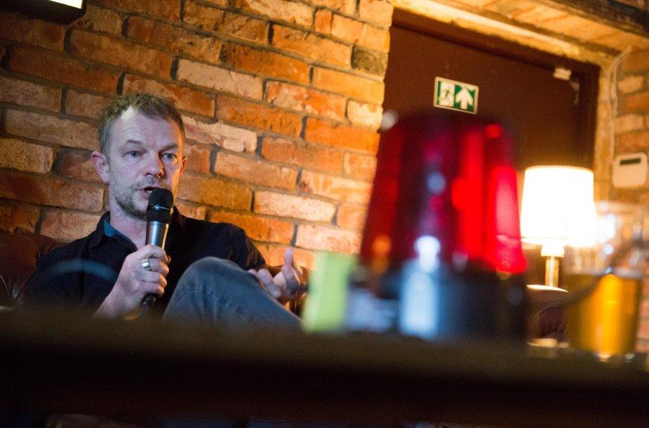 """""""VICE"""" žurnalistas Max Daly"""