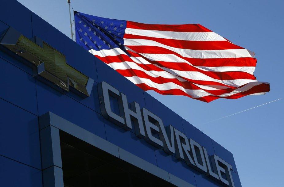 """Chevrolet"" logotipas"
