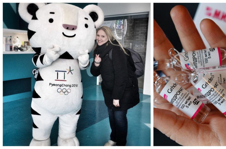 Rūta Banytė žiemos olimpinėse žaidynėse Pjongčange atlieka dopingo kontrolės pareigūnės pareigas.