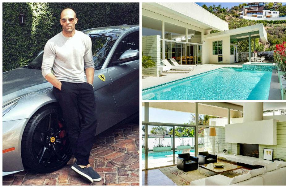 Jasonas Stathamas už 2,7 mln. JAV dolerių nusipirko dar vieną namą