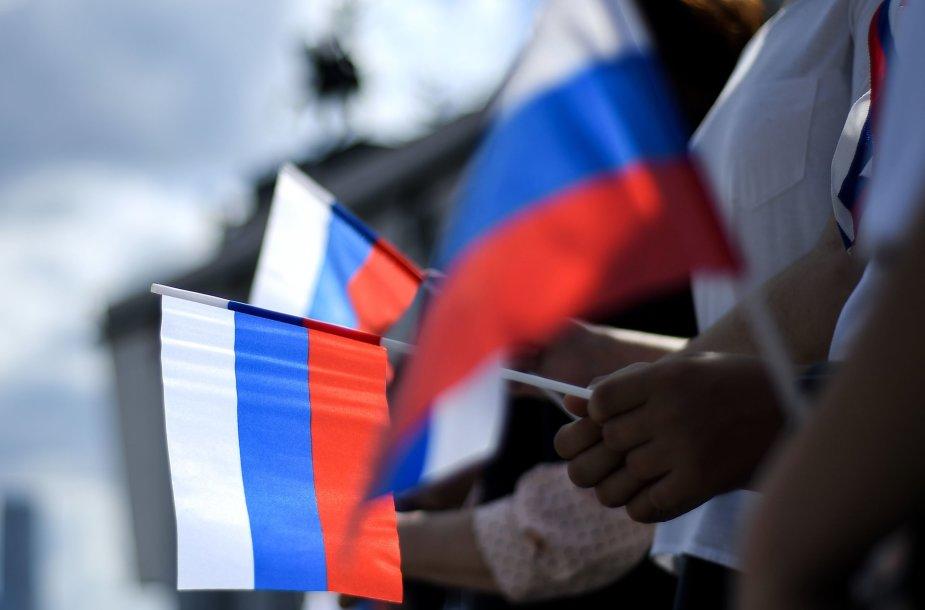 Rusijos vėliava