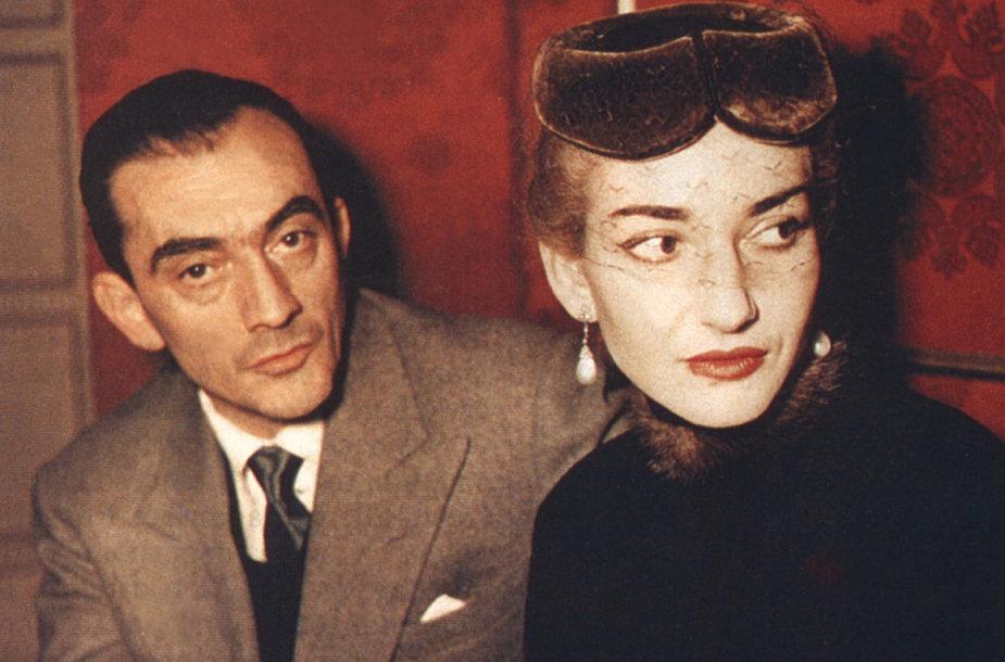 """Kadrai iš filmo """"Maria Callas: savais žodžiais"""""""