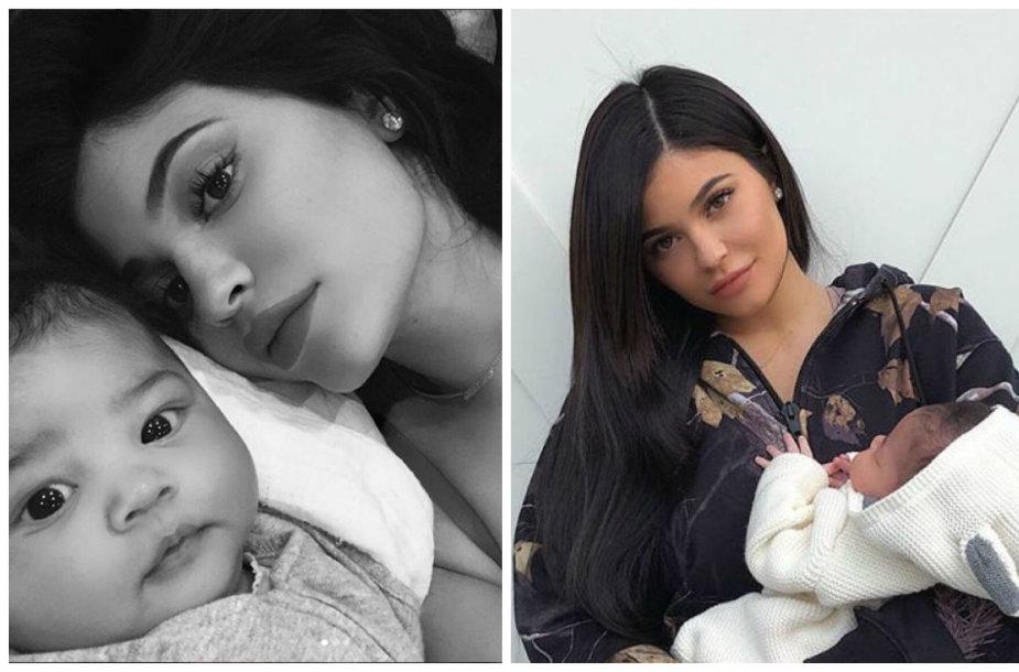 Kylie Jenner su dukra Stormi