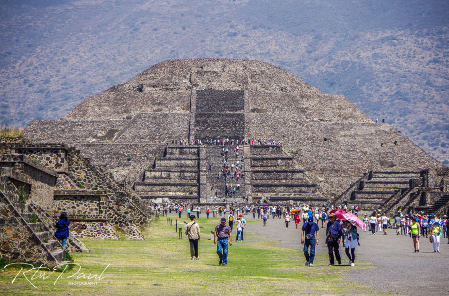 Piramidės Meksikoje