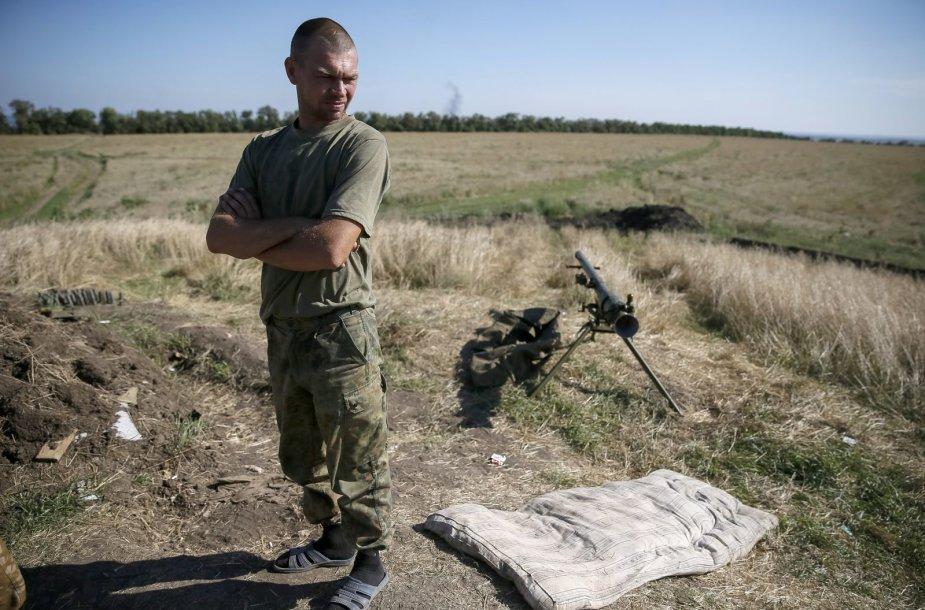 Ukrainos karys netoli Luhansko