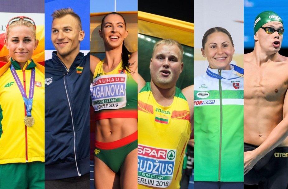 Lietuvos sportininkai, įvykdę Tokijo olimpinių žaidynių normatyvus