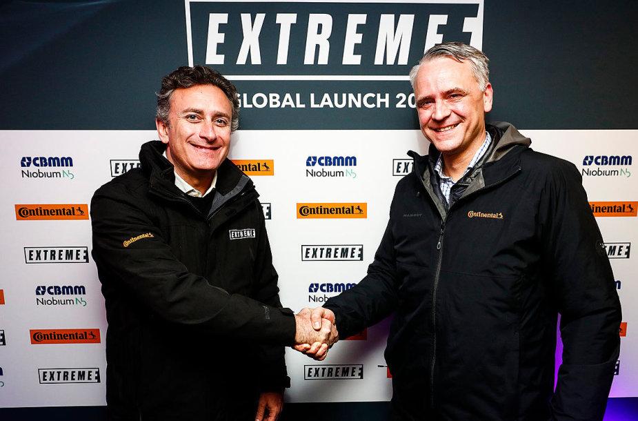 """""""Extreme E"""" serijoje bus naudojamos """"Continental"""" padangos"""