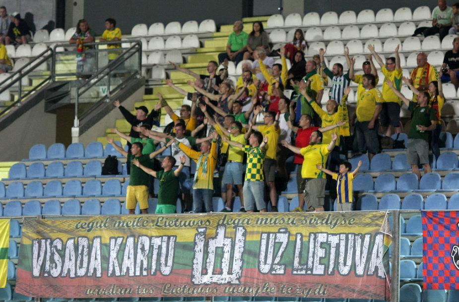 Lietuvos vyrų futbolo rinktinės sirgaliai