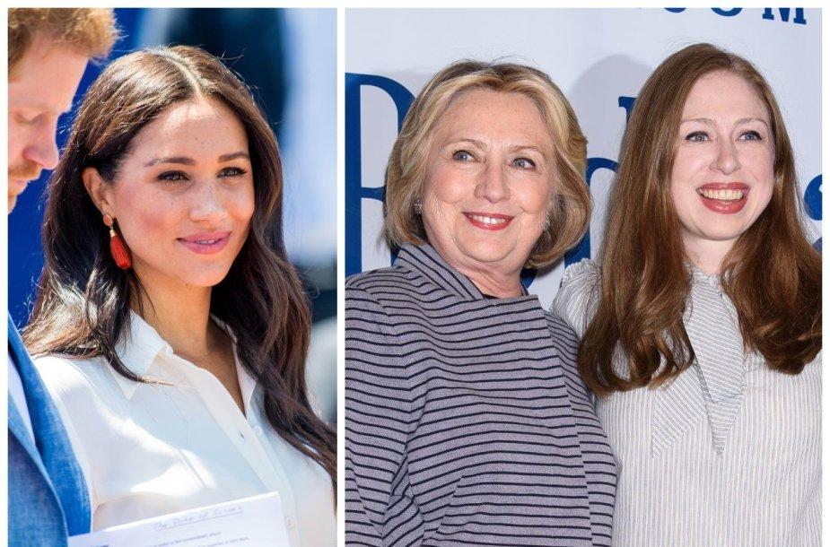 Meghan Markle, Hillary Clinton, Chelsea Clinton