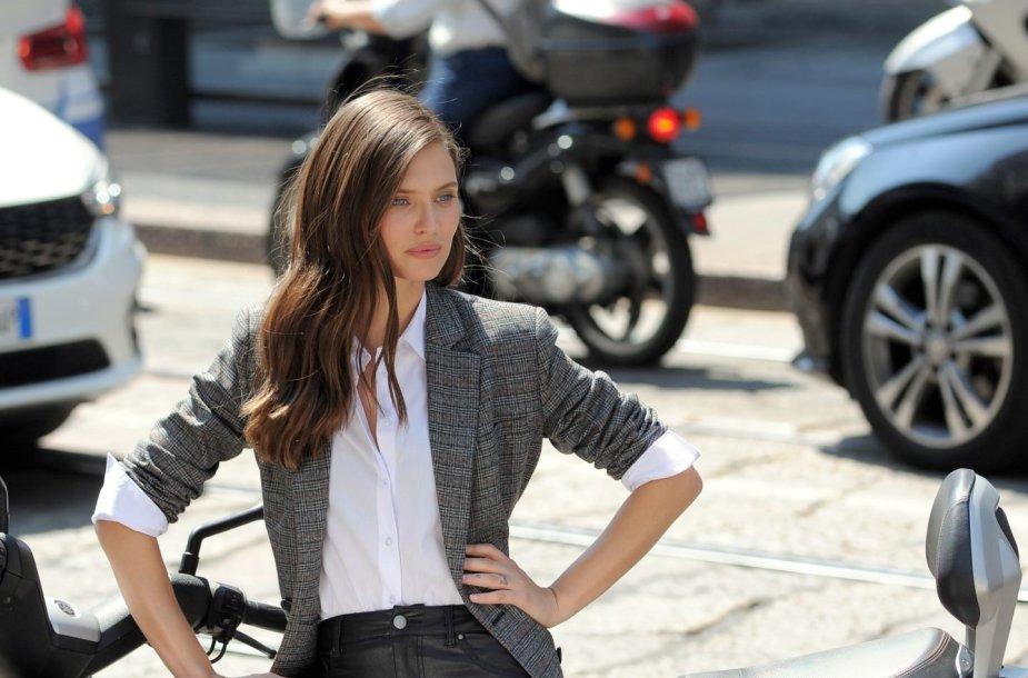 Italų modelis Bianca Balti