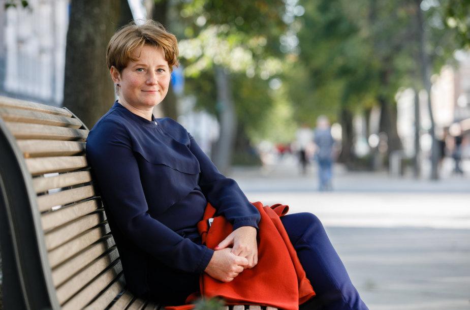 Skausmo gydytoja Aida Kinderytė