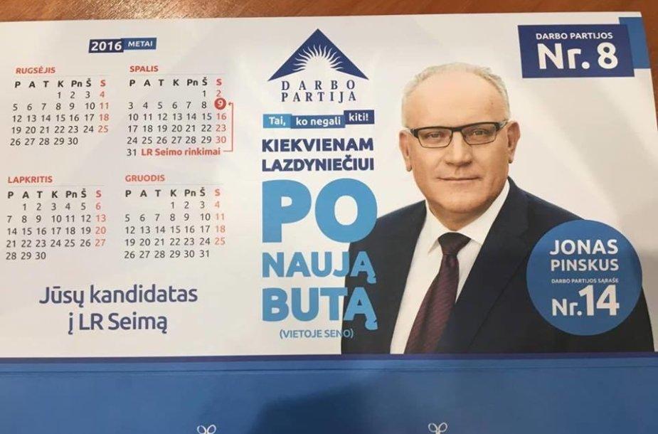 Jono Pinskaus reklama