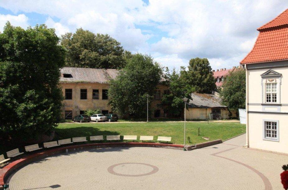 Lietuvos teatro, muzikos ir kino muziejaus kiemas