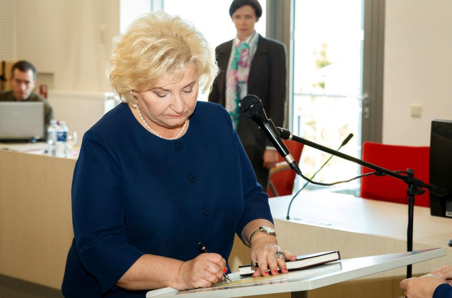 Marijampolės merė Irena Lunskienė