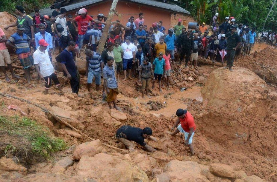 Nuošliauža Šri Lankoje