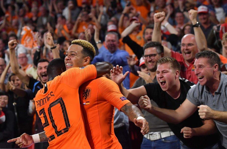 Olandija – Vokietija