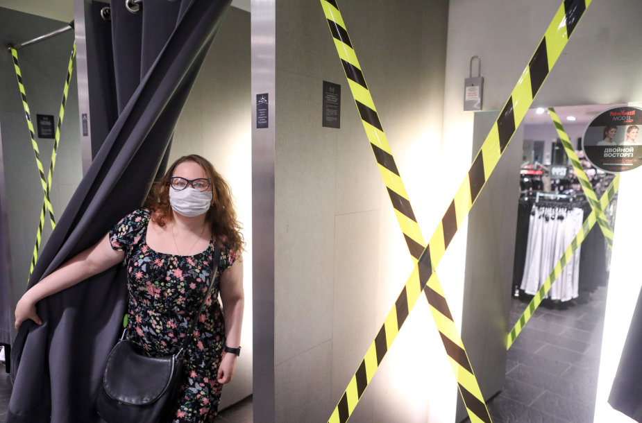 Pandemija Rusijoje