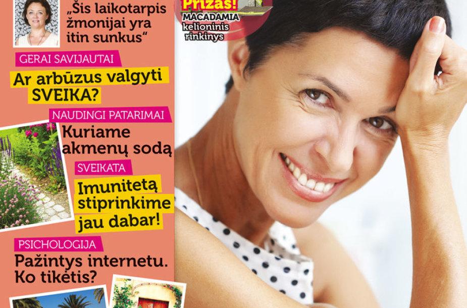 """Rugpjūčio mėnesio žurnalas """"Ji"""" 33 nr."""
