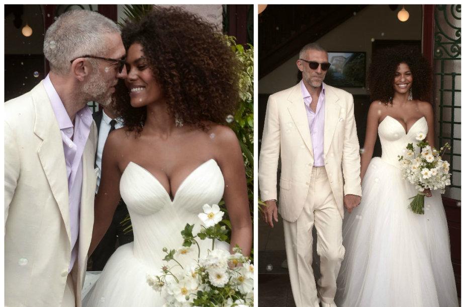 Vincent'as Casselis vedė manekenę Tiną Kunakey