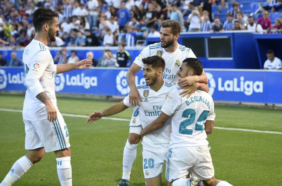 """""""Real"""" džiaugiasi Danielio Ceballoso įvarčiu"""