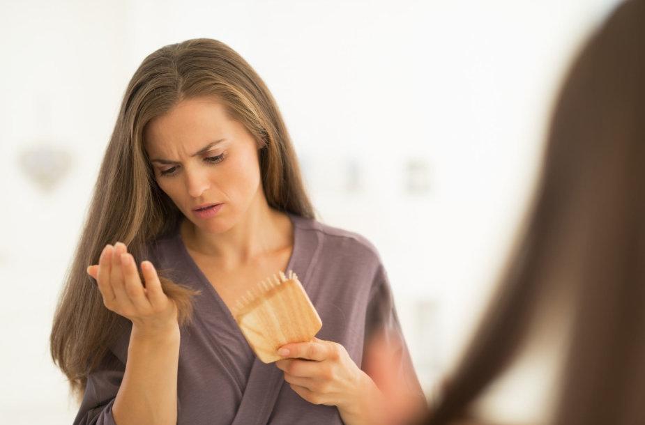 Slenka plaukai? Gali būti kalti vaistai nuo kraujospūdžio.
