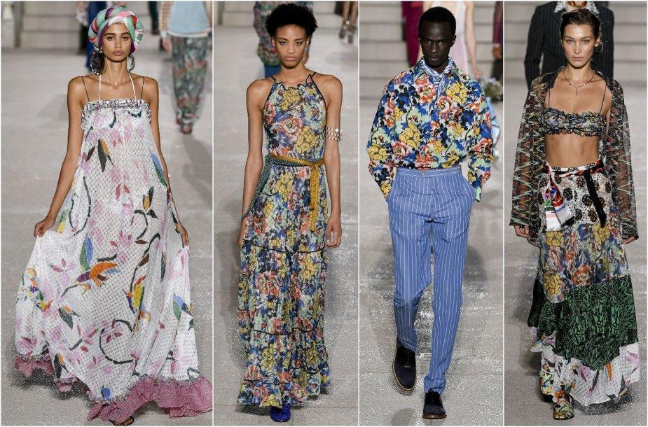 """""""Missoni"""" 2020 m. pavasario ir vasaros kolekcijos modeliai"""