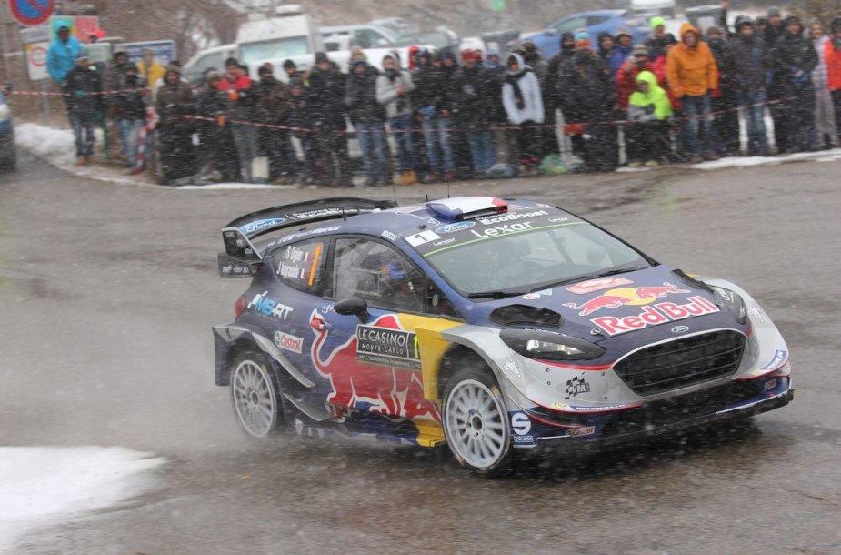 WRC Monte Karlo etapas