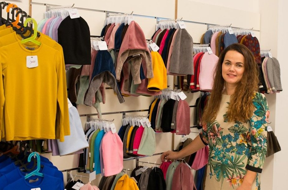 Dalia Daubarienė grįžo prie siuvinių ir nusprendė plėtoti savo verslą.