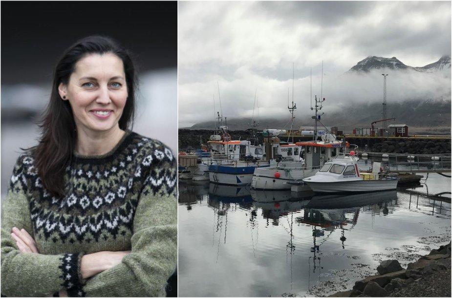 Silvija Juozelskytė-Vaičiulienė ir Islandija