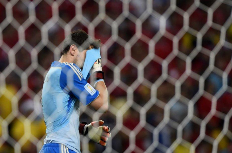Ispanijos vartininkas Ikeras Casillas