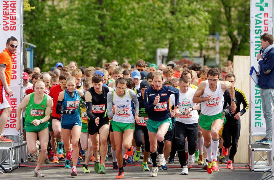 """Finalinis """"Eurovaistinės 10 km bėgimo taurės"""" etapas bus Klaipėdoje"""