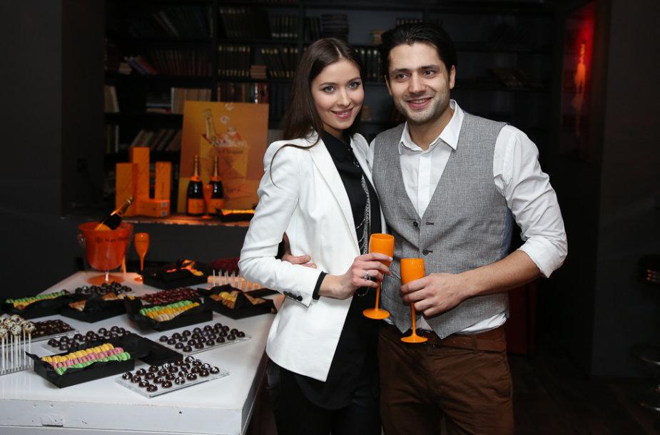 Ali Gadžijevas ir Patricija Žuromskytė