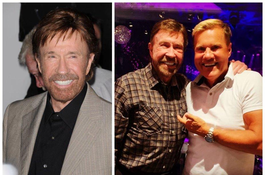 Chuckas Norrisas ir Dieteris Bohlenas